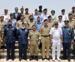 Pakistani Defense College Delegation Tours Bahrain's National Guard
