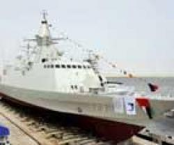 ADSB Launches Al Dhafra Vessel for the UAE Navy