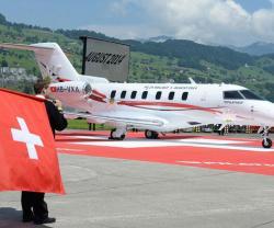 Pilatus Unveils First PC-24 Prototype