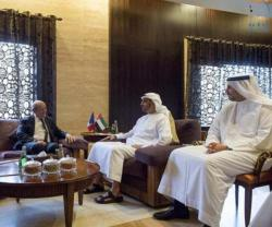UAE Defense Minister Receives French Counterpart