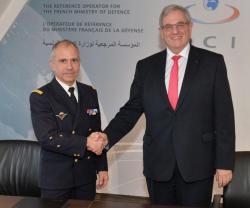 DCI, French Military Fuel Service Sign International Cooperation Agreement