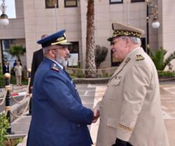 Qatar's Chief-of-Staff Meets Algerian Counterpart