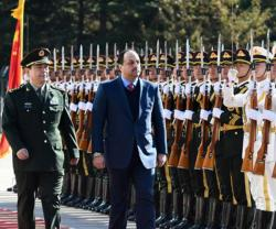Qatar's Defense Minister Meets Chinese Counterpart