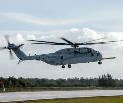 Second CH-53K Helicopter Joins Flight Test Program