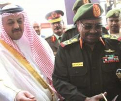 Sudan's President Inaugurates Military Clothing Factory