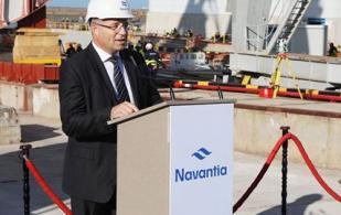 SAMI-Navantia Starts Construction of First RSNF Corvette in Cadiz